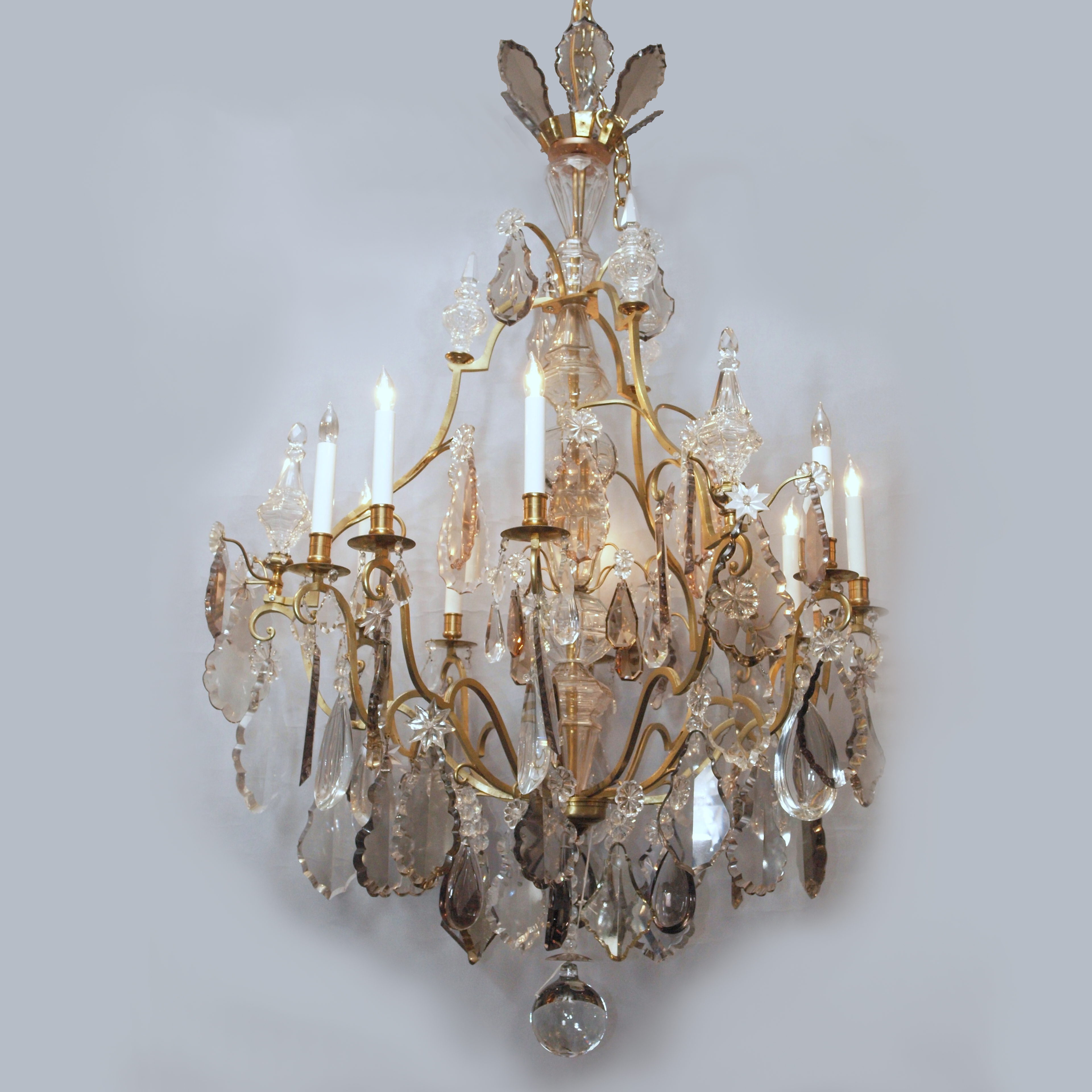 Antique french baccarat crystal chandelier circa 1860 keils antique french baccarat crystal chandelier circa 1860 aloadofball Image collections