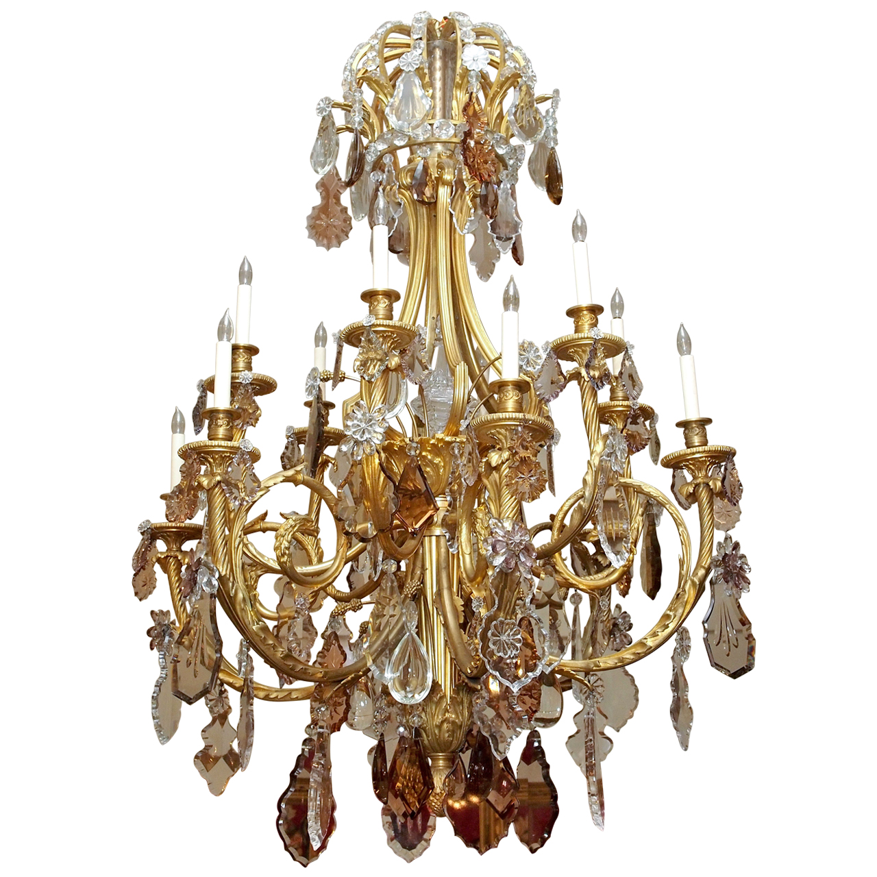 Antique museum quality french baccarat and ormolu crystal chandelier antique museum quality french baccarat and ormolu crystal chandelier aloadofball Choice Image