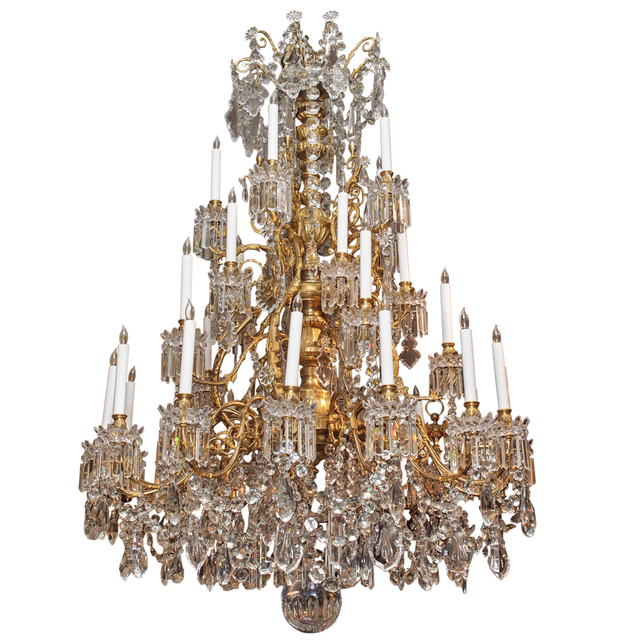 Antique french baccarat chandelier circa 1850 1870 keils antiques antique french baccarat chandelier circa 1850 1870 aloadofball Images